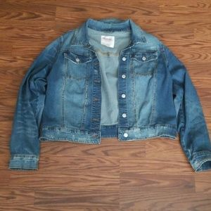 Jean jacket from Target